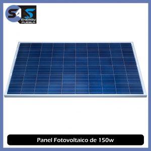 Sistema Fotovoltaico Aislado de 600 watts/día