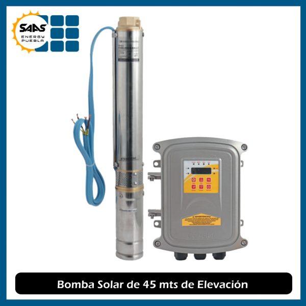 Bomba Solar de 45 mts - Saas Energy Puebla