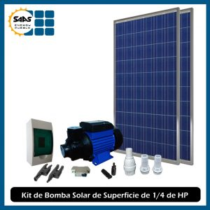 Kit Bombeo Solar Superficie - Saas Energy Puebla