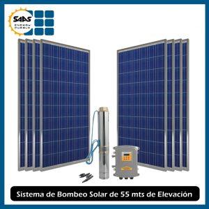 Kit Bombeo Solar 55 mts - Saas Energy Puebla