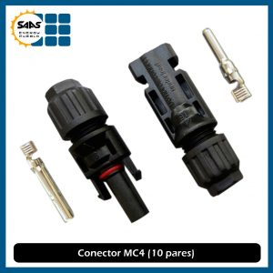 Conectores MC4 - Saas Energy Puebla